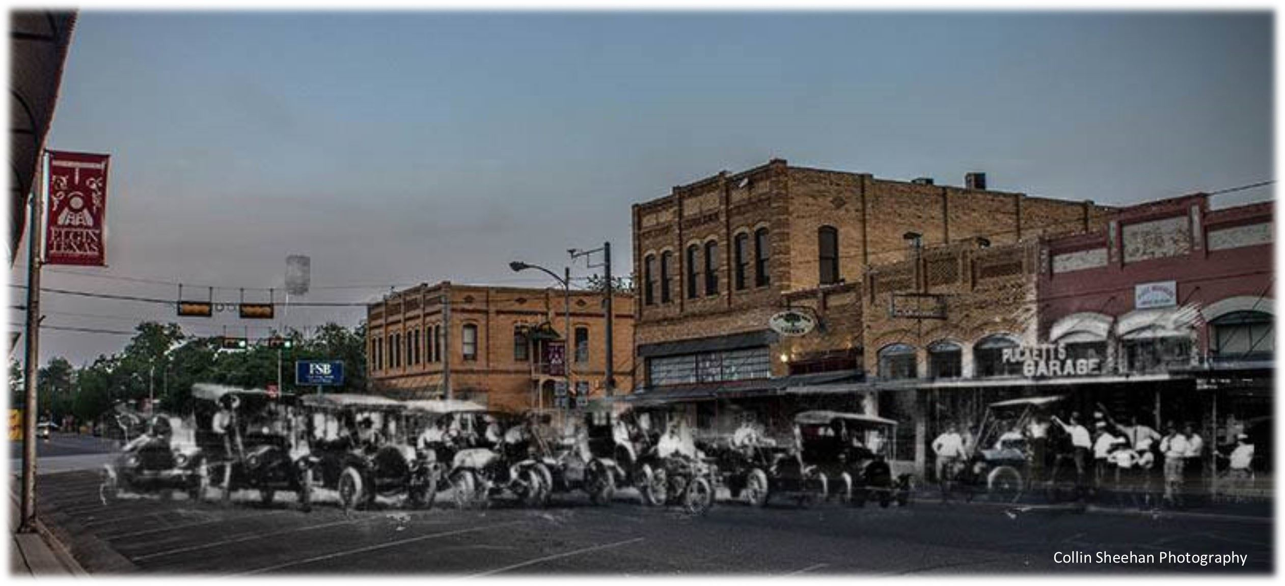Downtown Past n Present - Collin Sheehan Photography