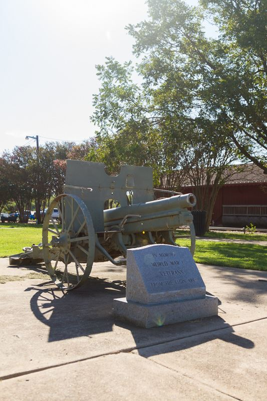 Veterans cannon