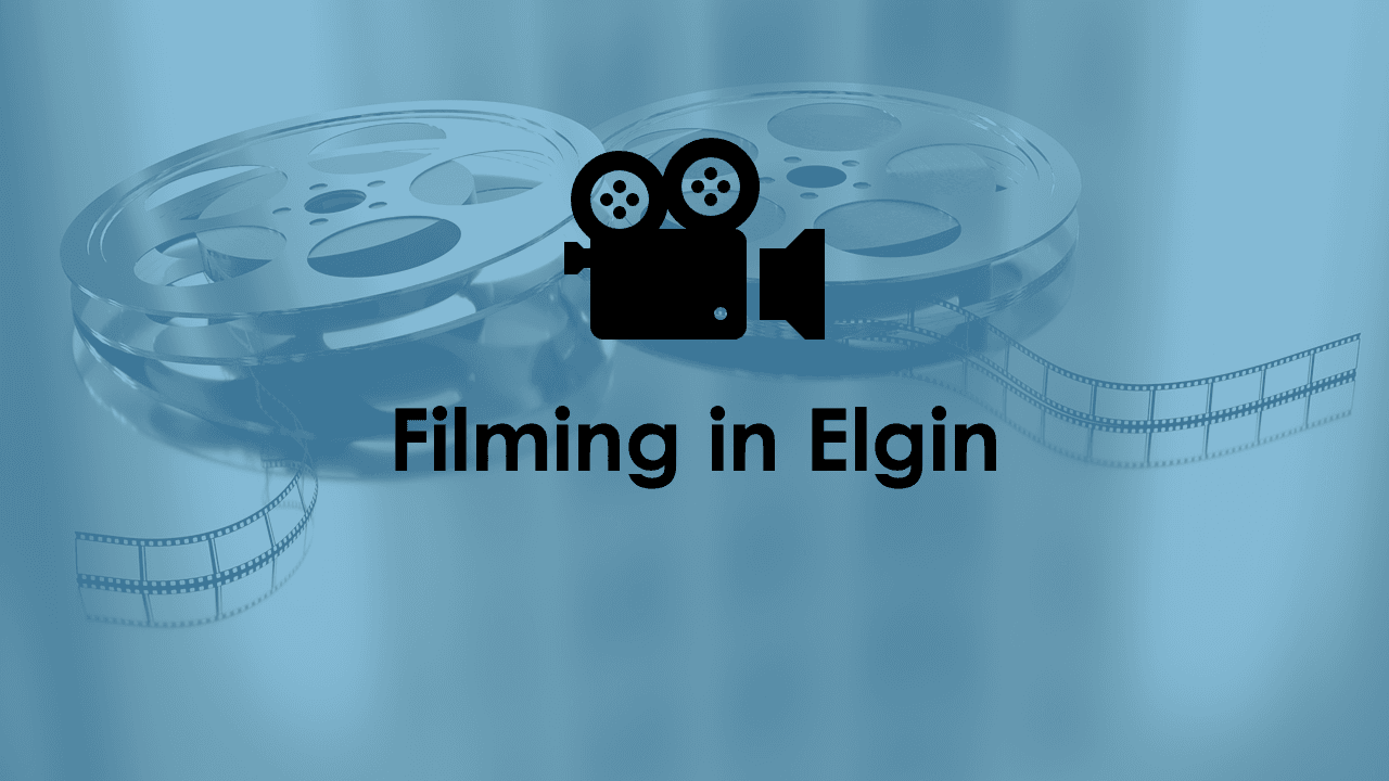 Filming in Elgin